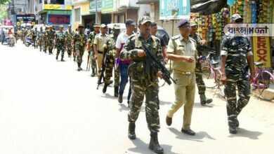 Photo of ফের বুটের আওয়াজে কাঁপবে বাংলা, তিন কেন্দ্রের নির্বাচনের জন্য নিযুক্ত ৫২ কোম্পানির বাহিনী