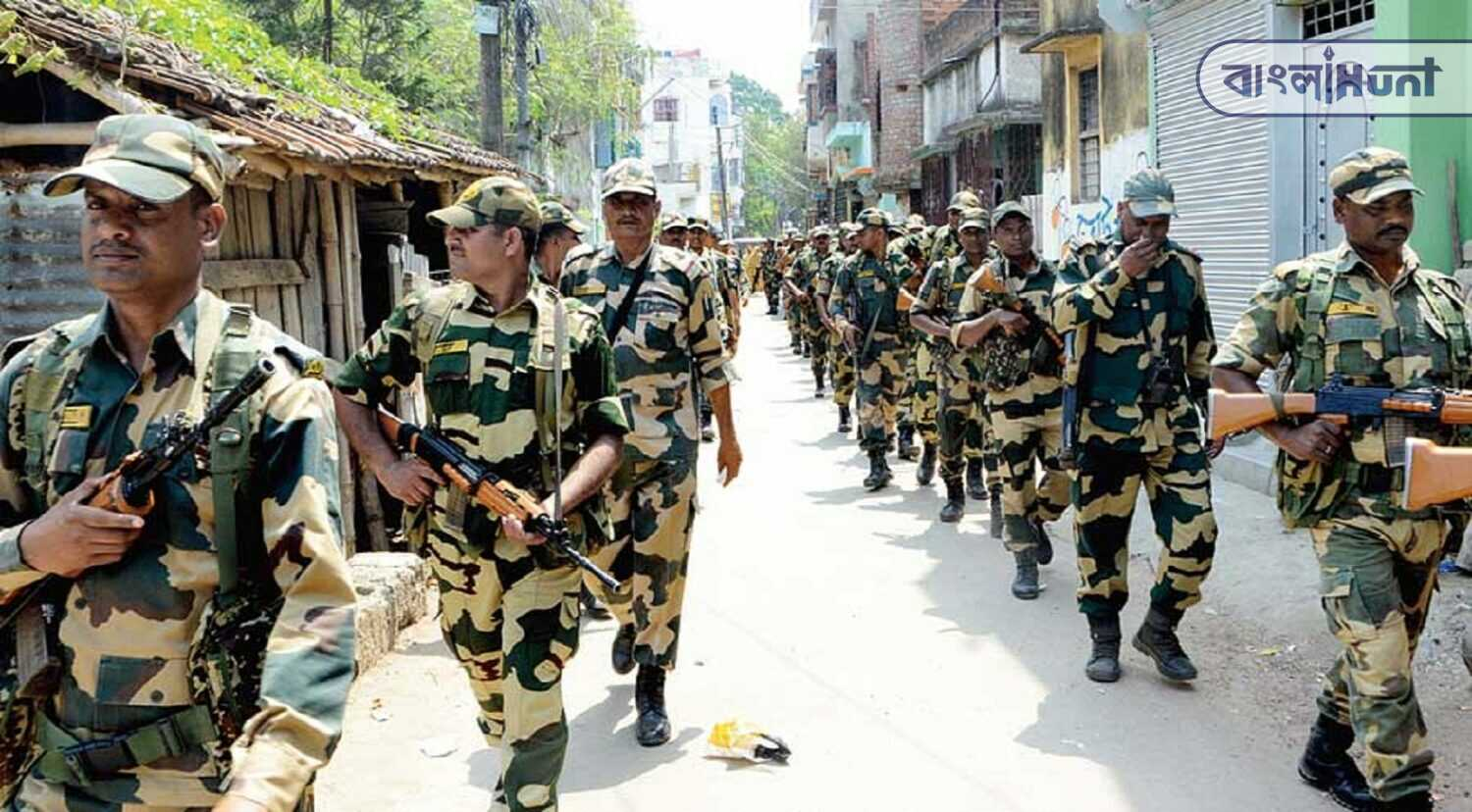 1071 company central forces are in Bengal