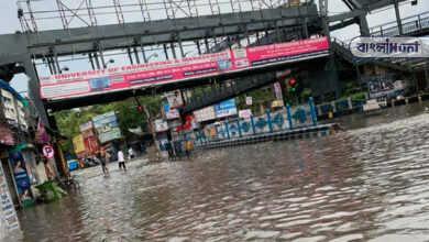 Photo of বৃষ্টিতে জলমগ্ন কলকাতা, আগামী কয়েকদিনও রয়েছে ভারী বৃষ্টির পূর্বাভাস