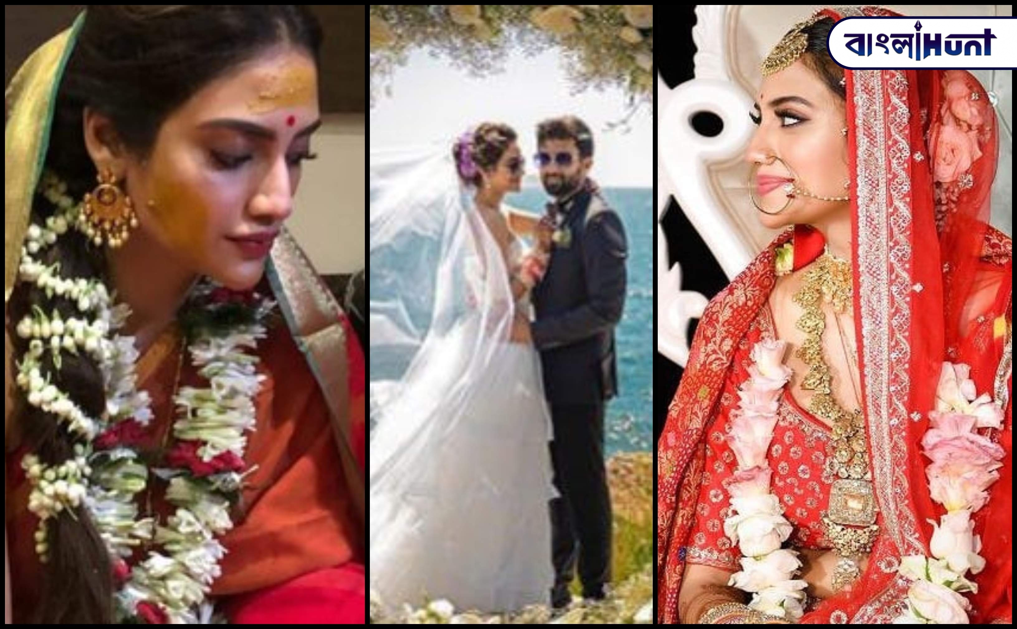 1Nusrat Jahan wedding photos Bangla Hunt Bengali News