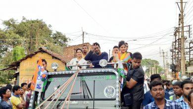 Photo of কোলাঘাটে সিনেমা অভিনেতা অভিনেত্রী কে দিয়ে গ্রামে প্রচার ঝড় তুললেন তৃণমূল