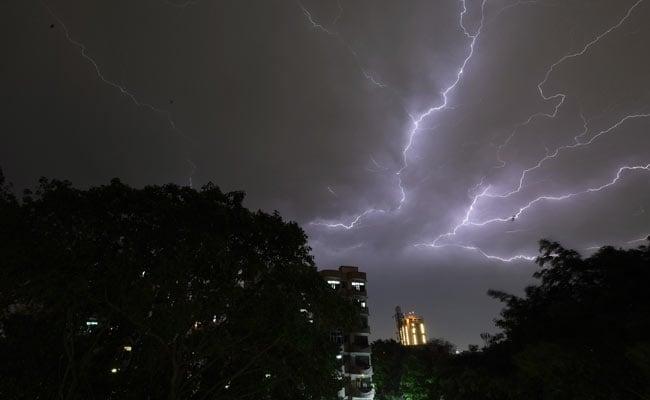 787fa thunderstorm alert delhi Bangla Hunt Bengali News
