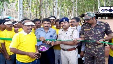 Photo of বাঁকুড়ায় সামাজিক সচেতনতার বার্তা দুর্গাপুজো কমিটির