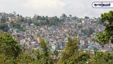 Photo of পাহাড়ের কোলে দুর্গা পুজোর বাদ্যি। পুজোয় ঘুরে আসা যায় কালিম্পং এর মিলনি ক্লাবের পুজো