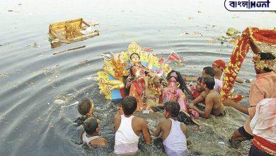 Photo of মূর্তি বিসর্জন ব্যান না করে, নতুন পদ্ধতি কাজে লাগিয়ে গঙ্গার জলকে শুদ্ধ রাখছে সরকার