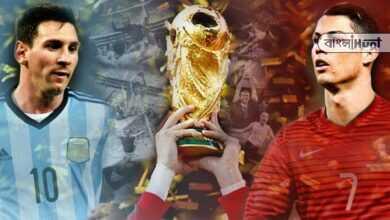 Photo of জোর ধাক্কা ফুটবল দুনিয়ায়, বিশ্বকাপে নেই মেসি-রোনাল্ডো!