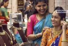 Photo of রেকর্ড পতন স্বর্ণ বাজারে, লক্ষ্মীবারে ৪৫ হাজারের ঘরে দাঁড়াল সোনার দাম