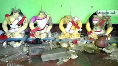 Photo of পাকিস্তানের পর বাংলাদেশেও আক্রান্ত হিন্দুরা, খুলনায় মন্দির আর হিন্দুদের বাড়িঘরে হামলা