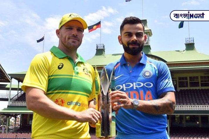 Catch the India Australia one day Bangla Hunt Bengali News