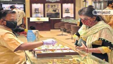 Photo of মুখ থুবড়ে পড়ল সোনার দাম, সঙ্গী হল রূপোও- জানুন আজকের দর
