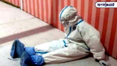 Photo of কুর্ণিশ! পিপিই কিটে অসহ্য গরম, কষ্টে বসে পড়েছেন নার্স; তবু্ও জারি লড়াই