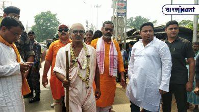 Photo of বোলপুরে শ্রীনিকেতনে গান্ধি সংকল্প যাত্রায় উপস্থিত অনুপম হাজরা,রইল ভিডিও