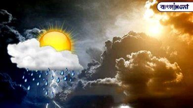 Photo of বৃষ্টি বাড়বে নাকি বাড়বে আদ্রতা? ঘনীভূত হওয়া নিম্নচাপের মাঝে জেনে নিন কেমন থাকবে আগামীকালের আবহাওয়া