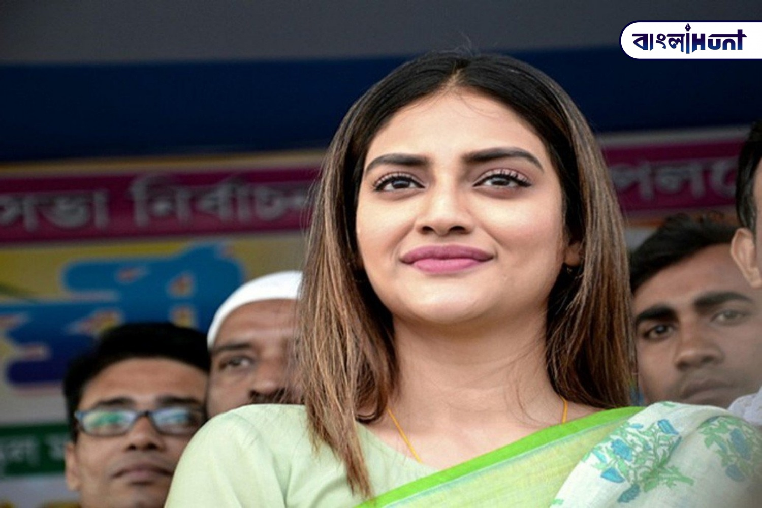"""""""Our country is burning at the hands of Modi ji and BJP"""", said Nusrat Jahan"""