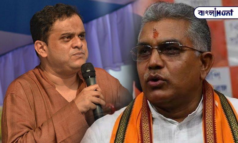 Bratya Basu gave an open challenge to Dilip Ghosh