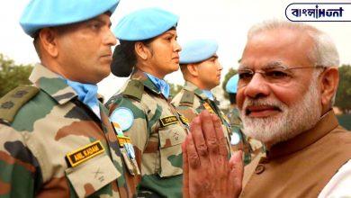 Photo of শান্তি মিশনে যোগ দিয়েছিল ভারতীয় সেনাবাহিনীর ৮০০ সৈনিক, বিশেষ সম্মান দিল United Nation