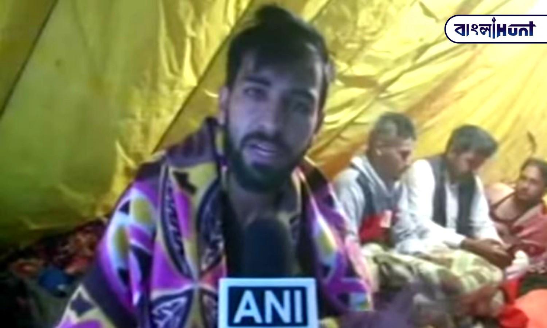 farmer drink hookah in farmer's protest area: Viral video