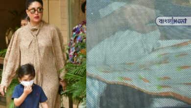 Photo of সদ্যোজাত ছোট ছেলেকে নিয়ে বাড়ি ফিরলেন করিনা, প্রকাশ্যে প্রথম ছবি