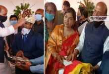 Photo of দত্তক পুত্রের বিয়েতে গিয়ে আবেগঘন হয়ে পড়লেন প্রতিরক্ষামন্ত্রী রাজনাথ সিং, দেখুন সেই ছবি