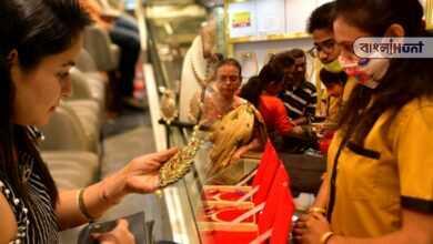 Photo of রেকর্ড পতন স্বর্ণ বাজারে, ৪৪ হাজারের ঘরে নামল সোনার দাম