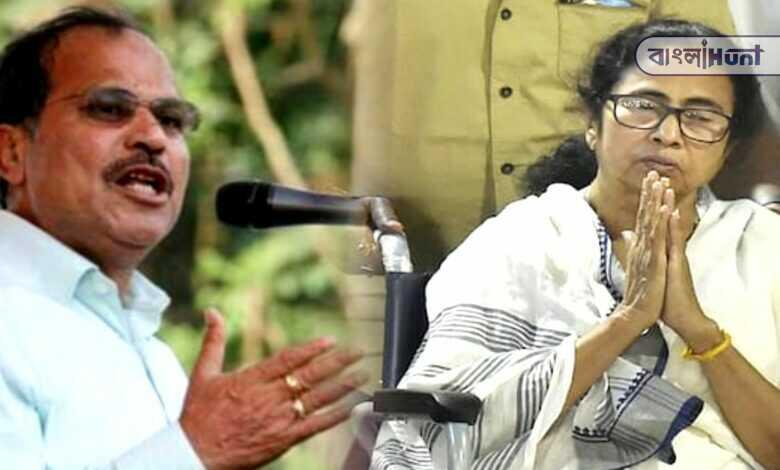 Adhir Chowdhury demanded to open the X-ray report Mamata Banerjee's Feet