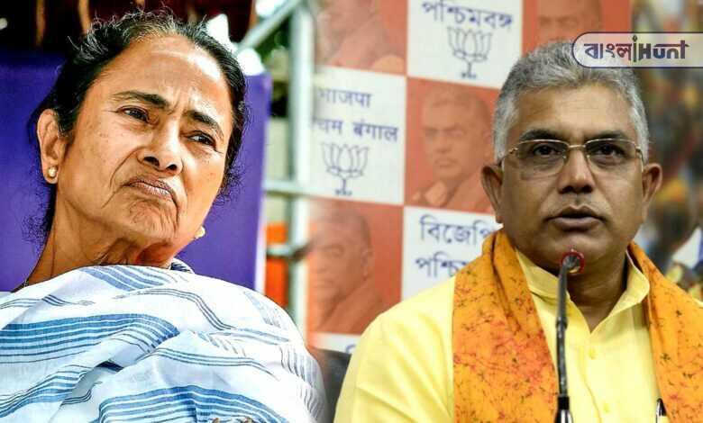 dilip ghosh attacks Mamata banerjee