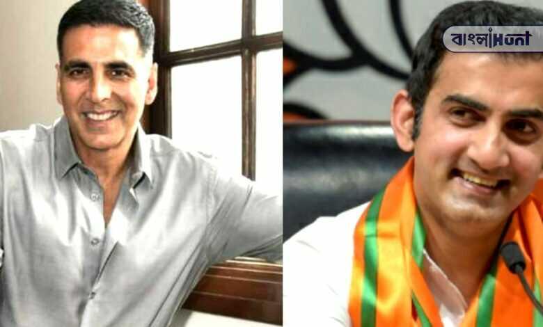 Akshay Kumar donated gautam gambhiris Foundation for covid-19