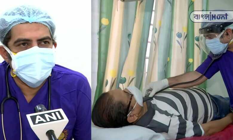 father died in corona, mother and brother admitted in hospital, but Pune doctor in his work