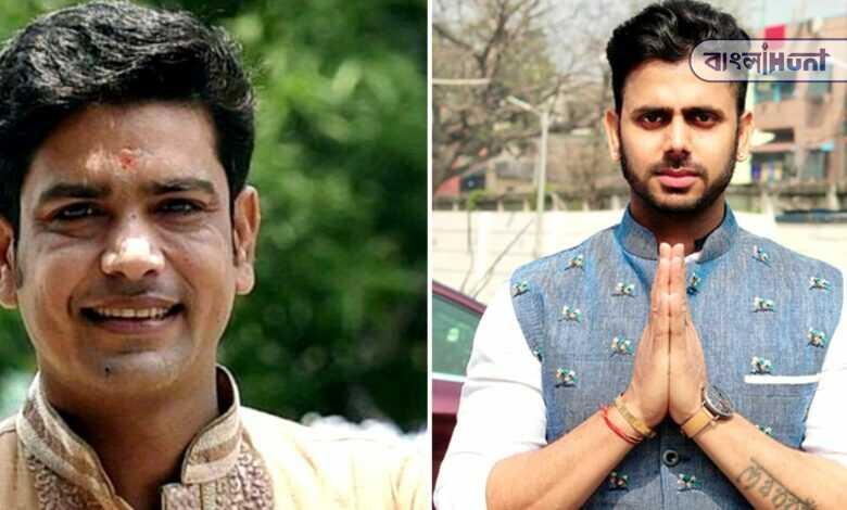 Laxmi Ratan Shukla greeted Manoj Tiwari