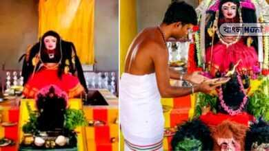 Photo of করোনা থেকে মুক্তি পেতে তৈরি হল করোনা দেবীর মন্দির, পুজো শুরু তামিলনাডুতে