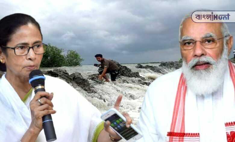 Photo of মমতাকে ফোন করে বন্যার খোঁজ নিলেন মোদী, কেন্দ্রের বিরুদ্ধে ষড়যন্ত্রের অভিযোগ রাজ্যের