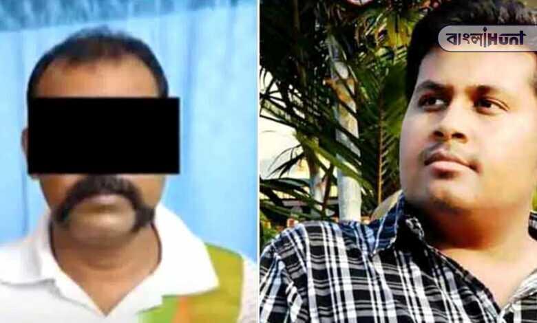 Arrested Debanjan Deb's bodyguard arabinda baidya