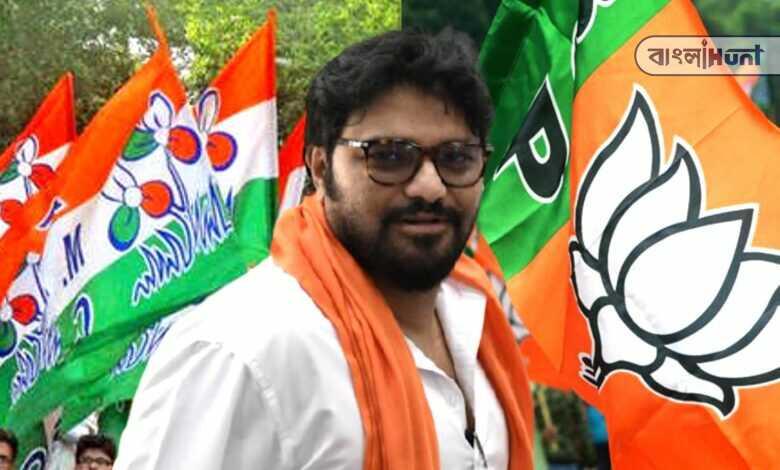 Babul Supriya is following Mukul Roy and TMC on Twitter