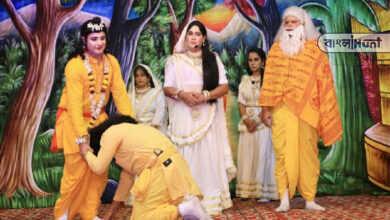 Photo of পুত্রশোকে কাতর দশরথ, 'রাম রাম' বলে হাহাকার করতে করতে মঞ্চের উপরেই প্রয়াত অভিনেতা