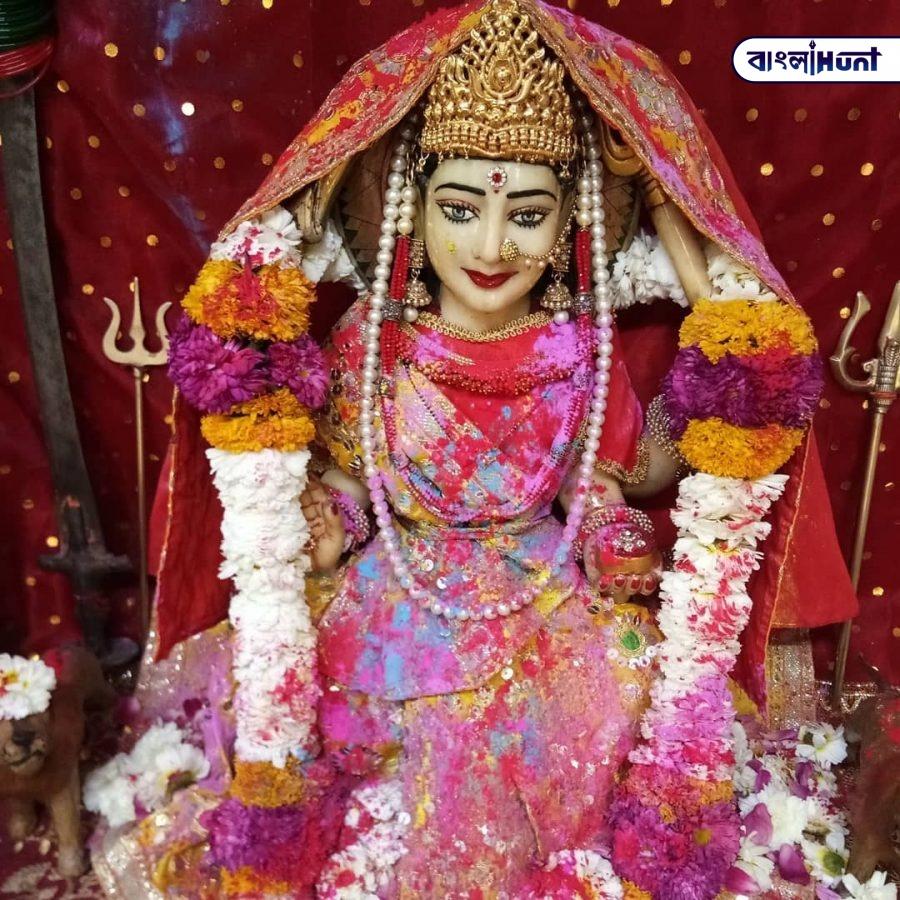 Jai Bhagwan Santoshi Mata Hindu Goddess Pic 2 Bangla Hunt Bengali News