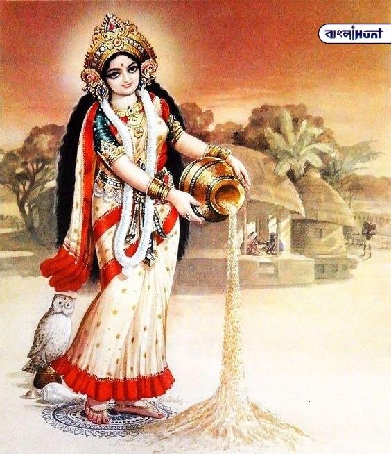 Paiso Ki Devi Lakshmi Image HD Bangla Hunt Bengali News