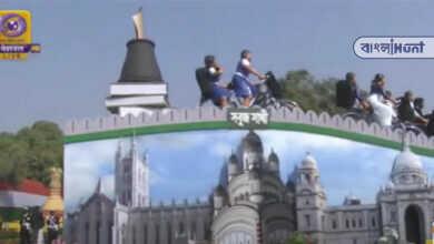 Photo of দিল্লীর রাজপথে সবুজ সাথীর ট্যাবলো, কালাহান্ডির সংস্কৃতি তুলে ধরল কলকাতার পড়ুয়ারা