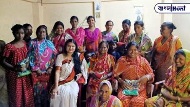 Photo of সমাজের অবহেলিত নারীদের পাশে অনুশ্রী মুখার্জী
