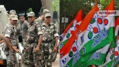 Photo of TMC-র বুথ অফিস ভাঙছে কেন্দ্রীয় বাহিনী, মারছে ভোটারদের! ভিডিও পোস্ট দাবি তৃণমূলের