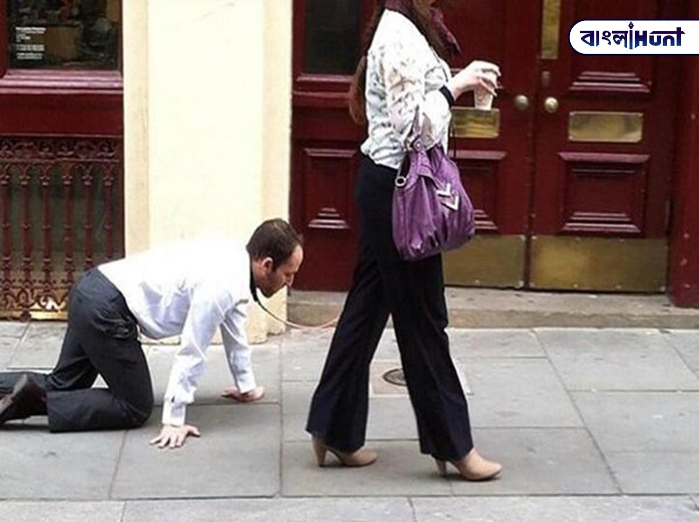 Woman Make Man Dog Bangla Hunt Bengali News