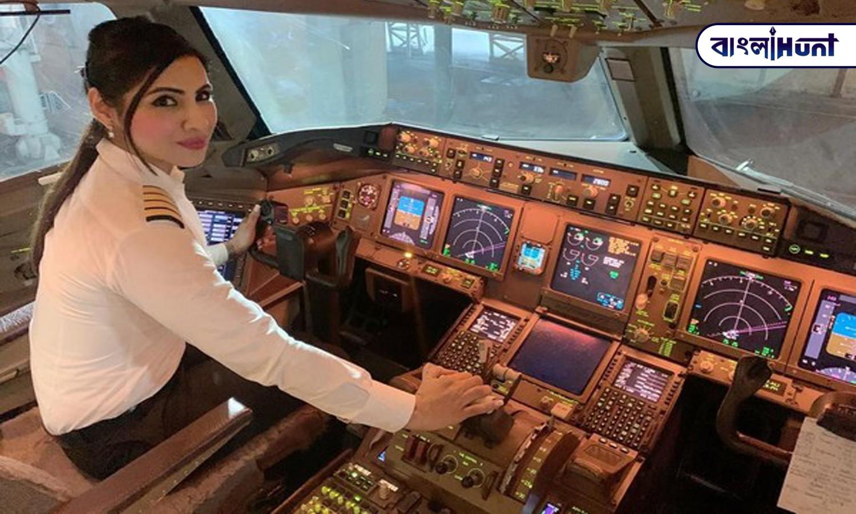 air india female pilot Bangla Hunt Bengali News