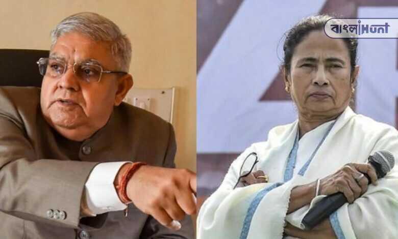 Jagdeep Dhankhar attacks mamata banerjee about shitalkuchi incident