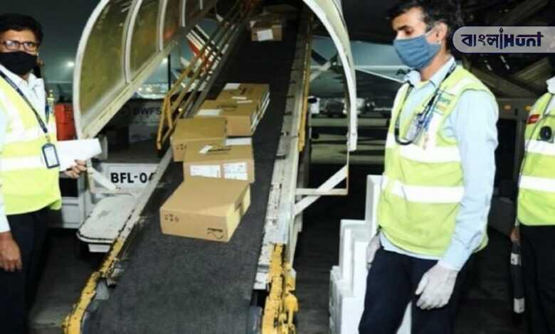 Indian descent doctor from England Sending medical equipment