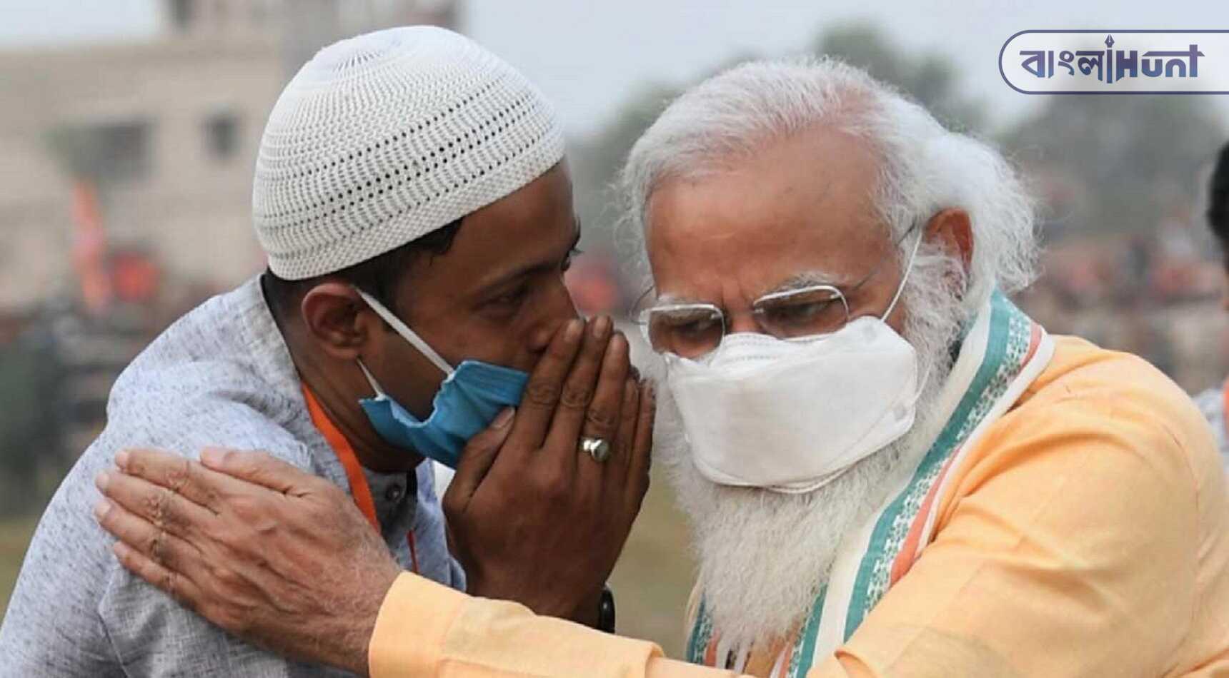 What is saying Muslim boy to narendra Modi! Viral photo