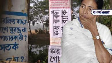 """Photo of নন্দীগ্রামে মুখ্যমন্ত্রীর সভার আগে পড়ল 'মমতা ব্যানার্জী গো ব্যাক"""" পোস্টার"""