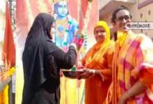"""Photo of সম্প্রীতির ভারতঃ ওয়াইসির গড়ে রাম মন্দিরের জন্য 'নিধি সমর্পণ"""" অভিযানে নামল মুসলিমরা"""