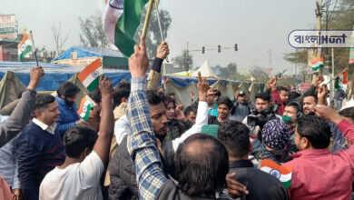 "Photo of 'তিরঙ্গার অপমান সইবে না হিন্দুস্তান"" কৃষক আন্দোলনের বিরুদ্ধে পথে নামল সাধারণ মানুষ"