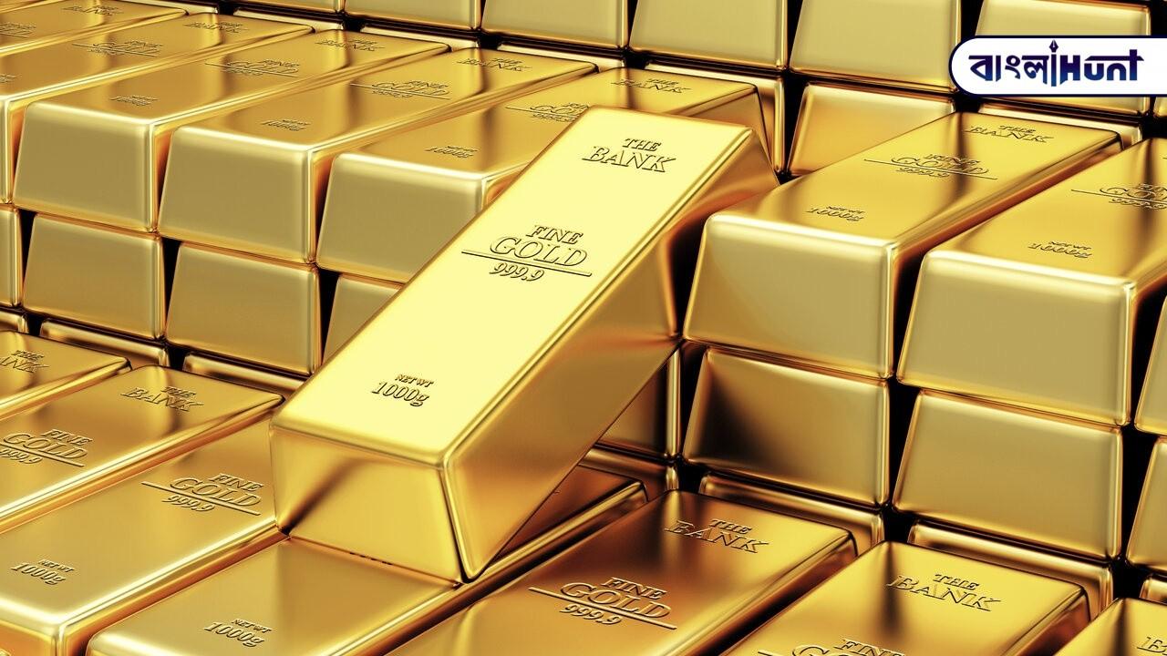stack of golden bars in the bank vault Bangla Hunt Bengali News
