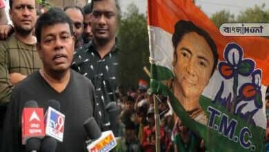 "Photo of 'কেন্দ্রীয় বাহিনী বুথে আর ক্যাম্পে থাকবে, আমরা থাকব মাঠে, খেলা হবে"" হুমকি তৃণমূল নেতার"