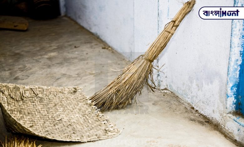 If you put a broom in this special place in the house, evil forces will not be able to enter